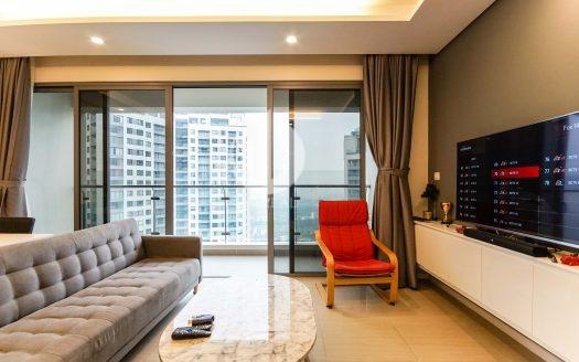 Diamond Island Apartment – The apartment has a simple but not monotonous design.