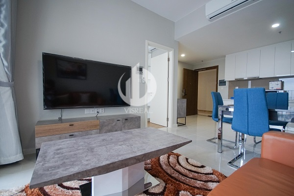 Masteri An Phu Apartment - Airy living space, fully equipped.