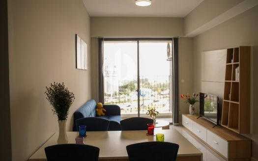 Masteri An Phu Apartment - The colors of the apartment are arranged in a subtle way together.