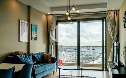 Gold View Apartment - Nice interior design, romantic city view.