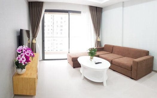 Gold View Apartment - Delicacy and elegance on a white background.