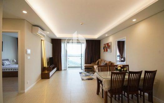 Diamond Island Apartment – The design is simple but still modern.