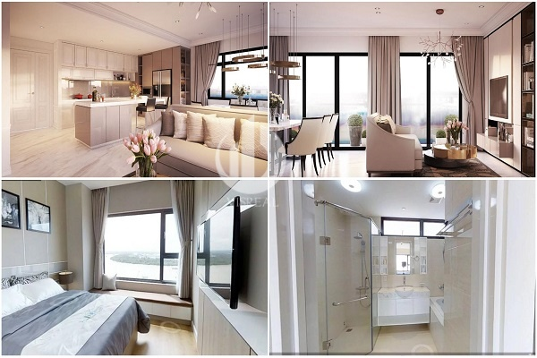 Sample apartment for rent in New City Thu Thiem