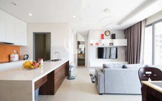 Diamond Island Apartment – The apartment possesses a sophisticated, minimalist and quiet style.