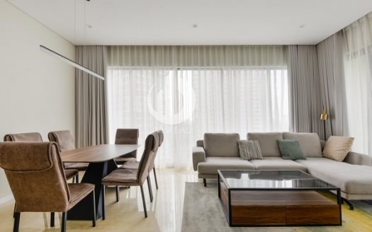 Diamond Island Apartment –  has an airy and spacious design.