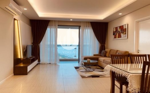 Diamond Island Apartment –  Apartment with full view of Saigon river.