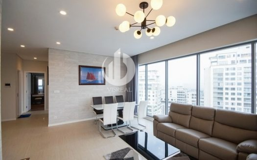 Diamond Island Apartment –  Modern 3 bedrooms, High Floor with nice view.