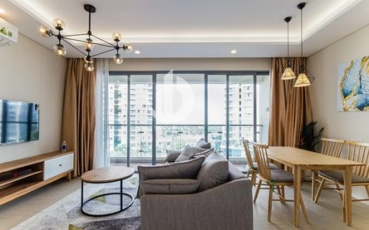 Diamond Island Apartment –  has a bright, elegant, modern but no-frills space.