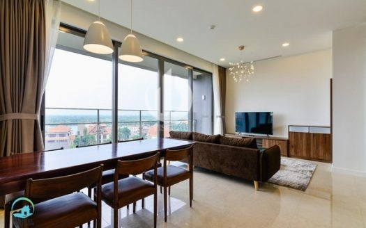 Nassim Thao Dien Apartment – Spacious apartment, fresh air, view of quiet Thao Dien residents.