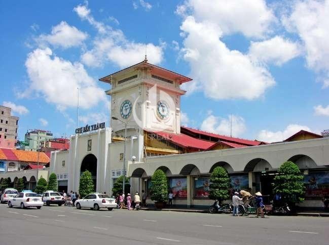 Ben Thanh market in district 1