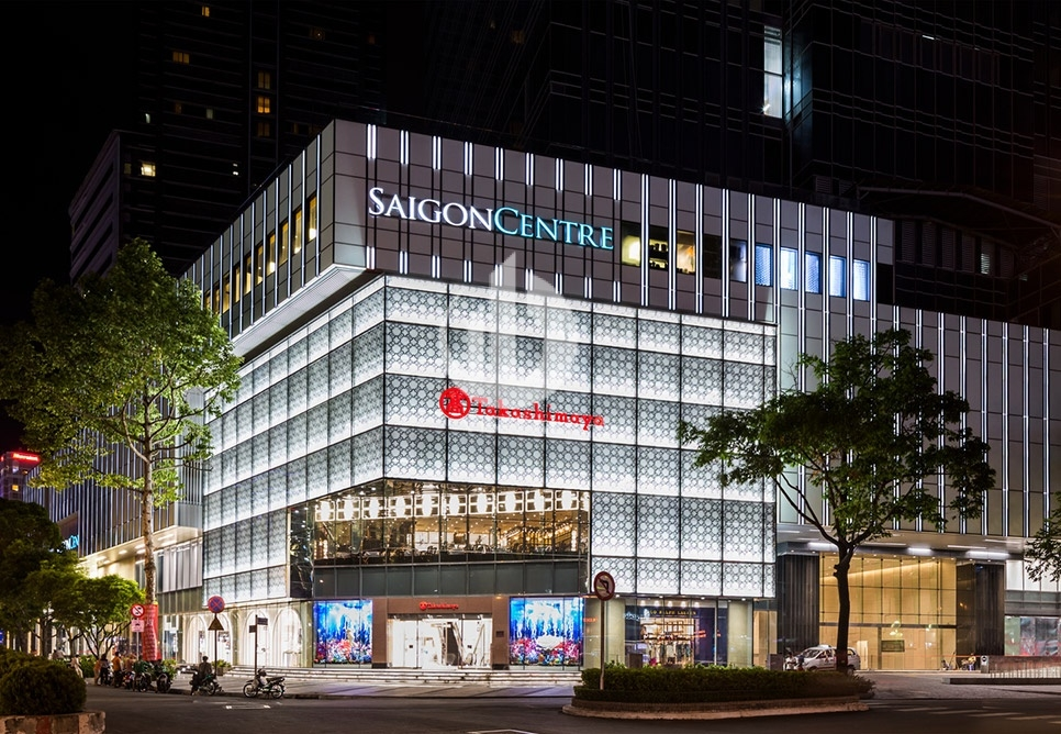 Shopping mall Sai Gon central in district 1