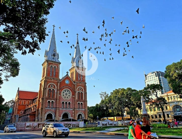 Immaculate Conception Cathedral Basilica in District 1