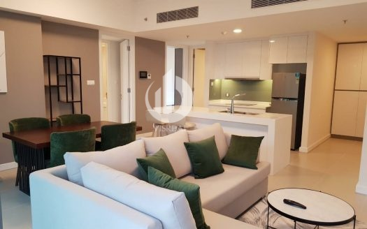Two bedrooms apartment for rent in Gateway, Thao Dien