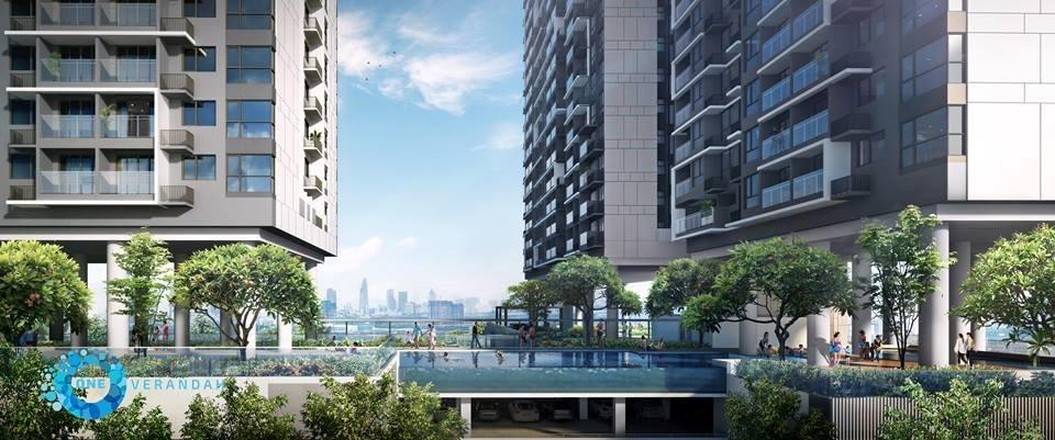 Swimming pool - Apartment for rent in One Verandah