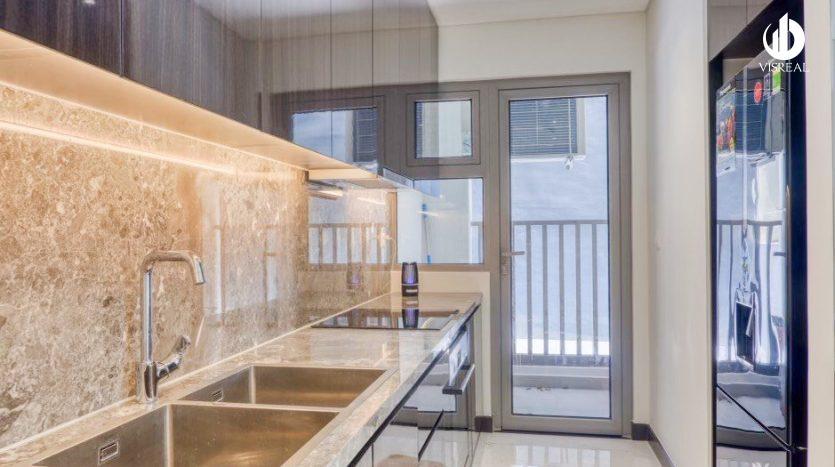 A modern kitchen