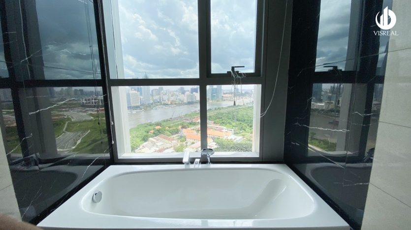 Bathroom and nice view