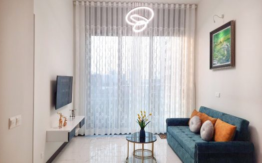 Empire City rental apartment, the living room