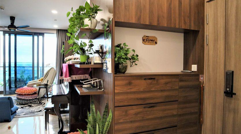A pretty corner in the apartment