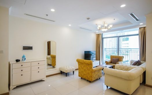 Apartment For Rent In Vinhome - The Apartment Is In Harmony In Color and design