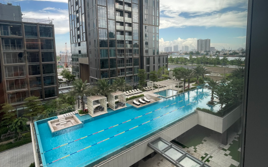 Apartment for rent in Empire City - Modern, 1 bedroom, pool view