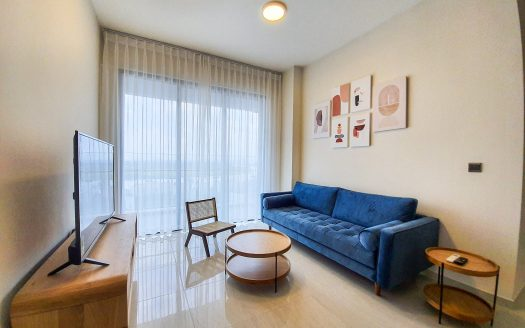 Q2 Thao Dien apartment for lease - Beauty from the wooden material